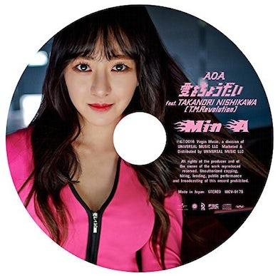 AOA AI WO CHOUDAI: MINA EDITION CD