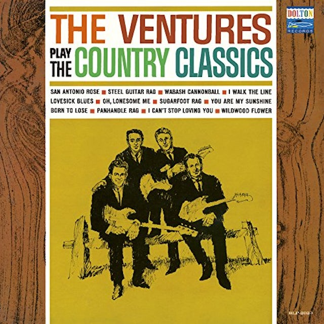 Ventures PLAY THE COUNTRY CLASSI CD