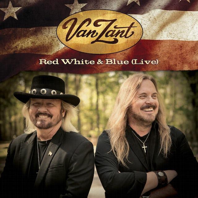 Van Zant RED WHITE & BLUE (LIVE) CD