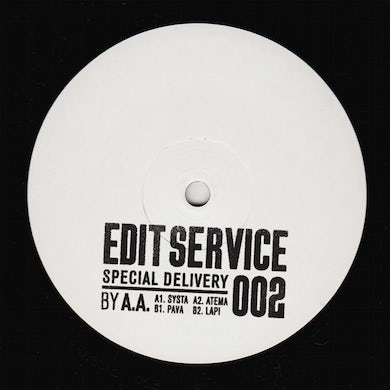 EDIT SERVICE 002 - SPECIAL DELIVERY / VARIOUS Vinyl Record
