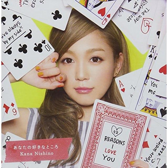 Kana Nishino REASONS I LOVE YOU CD