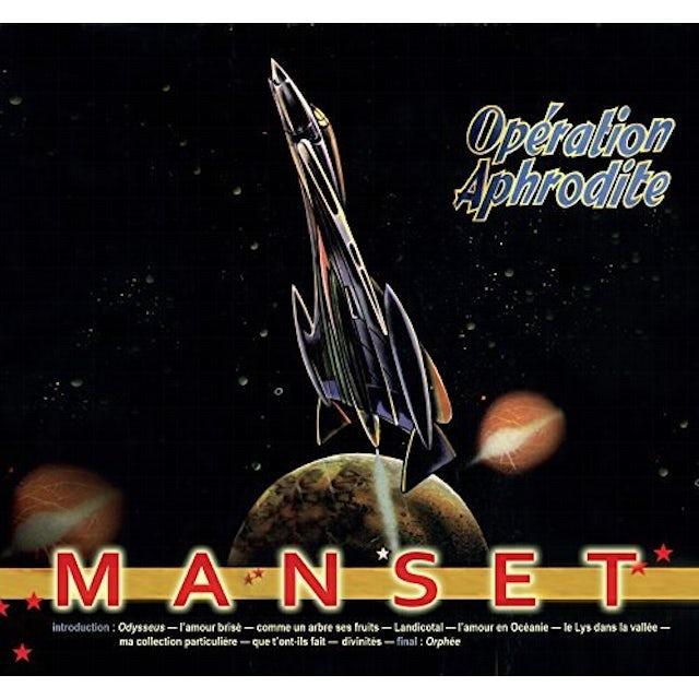 Gerard manset OPERATION APHRODITE CD
