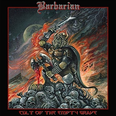 Barbarian CULT OF THE EMPTY GRAVE Vinyl Record