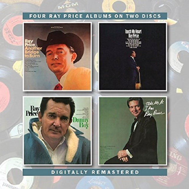 Ray Price ANOTHER BRIDGE TO BURN /TOUCH MY HEART/DANNY BOY CD