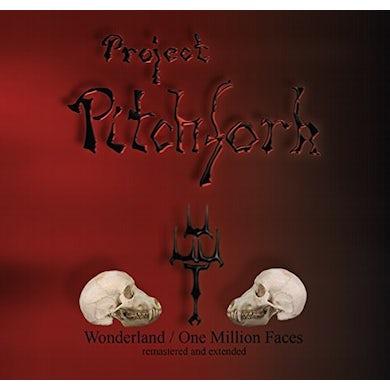 Project Pitchfork WONDERLAND/ONE MILLION FACES CD