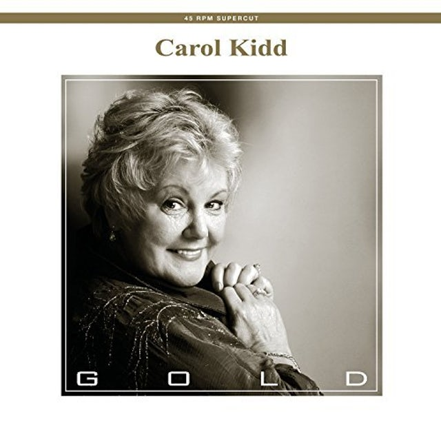 Carol Kidd GOLD Vinyl Record - 180 Gram Pressing, UK Release