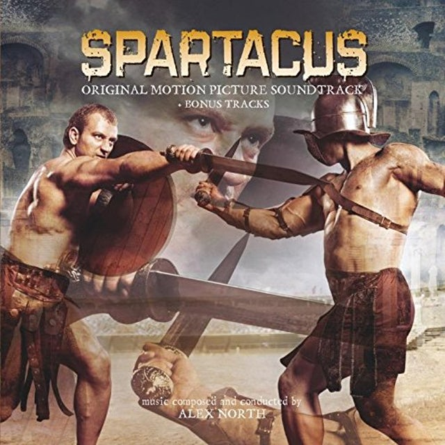Alex North SPARTACUS / Original Soundtrack Vinyl Record