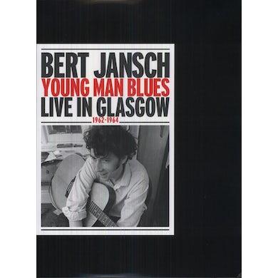 Bert Jansch YOUNG MAN BLUES: LIVE IN GLASGOW Vinyl Record