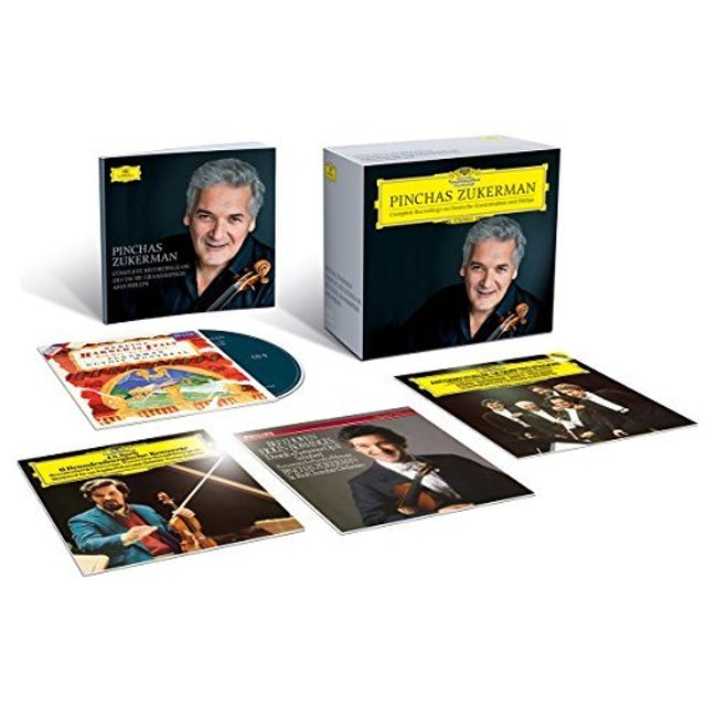 Pinchas Zukerman ZUKERMAN: COMPLETE RECORDINGS ON DEUTSCHE GRAMMOPH CD
