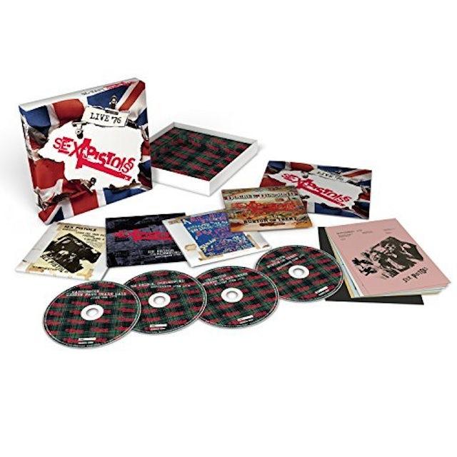 Sex Pistols LIVE 76 CD