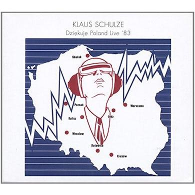Klaus Schulze DZIEKUJE POLAND LIVE '83 CD