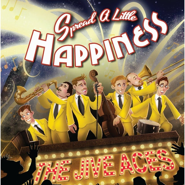 Jive Aces SPREAD A LITTLE HAPPINESS CD