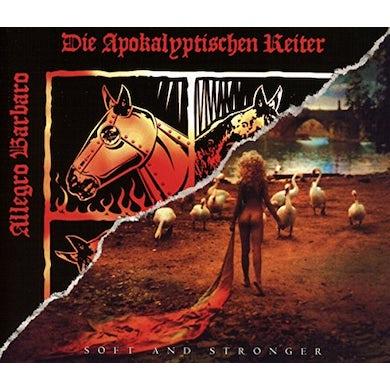 Die Apokalyptischen Reiter ALLEGRO BARBARO: SOFT & STRONGER CD