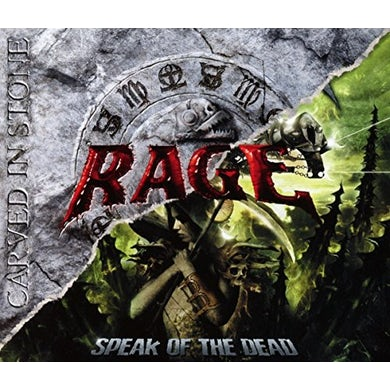Rage CARVED IN STONE: SPEAK OF THE DEAD CD
