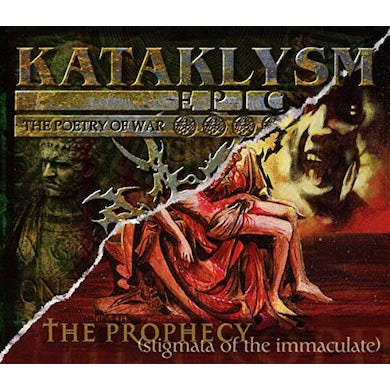 Kataklysm PROPHECY: EPIC (THE POETRY OF WAR) CD