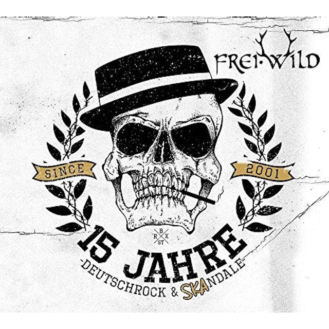 Frei.Wild 15 JAHRE DEUTSCHROCK & SKANDALE CD