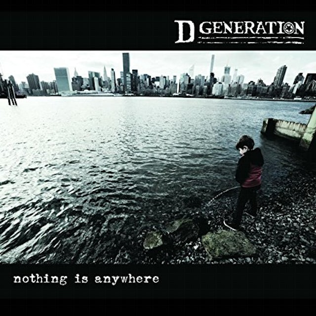 D Generation NOTHING IS ANYWHERE CD