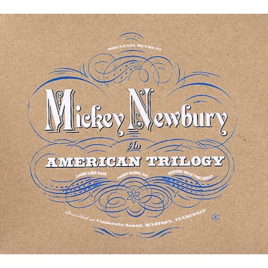 Mickey Newbury AN AMERICAN TRILOGY CD