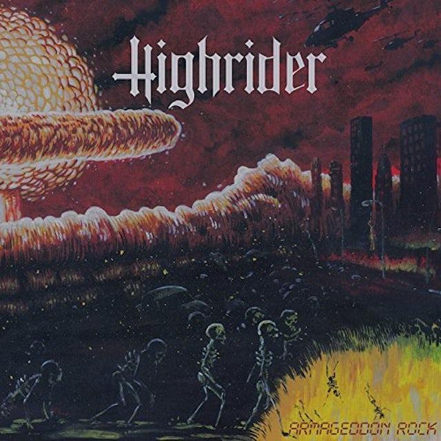 HIGHRIDER ARMAGEDDON ROCK CD