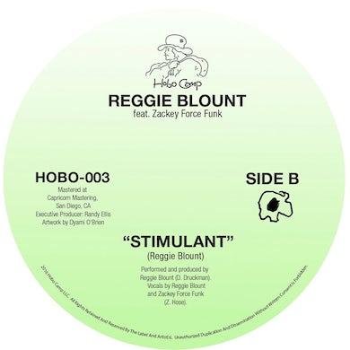 REGGIE BLOUNT SPACE BITCH / STIMULANT Vinyl Record