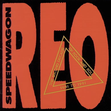 Reo Speedwagon SECOND DECADE 1981-91 CD