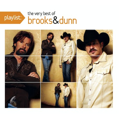 Brooks & Dunn PLAYLIST: VERY BEST OF CD