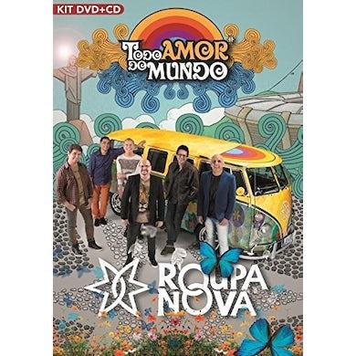 Roupa Nova TODO AMOR DO MUNDO KIT CD