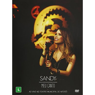 Sandy MEU CANTO: AO VIVO NO TEATRO MUNICIPAL DE NITEROI DVD