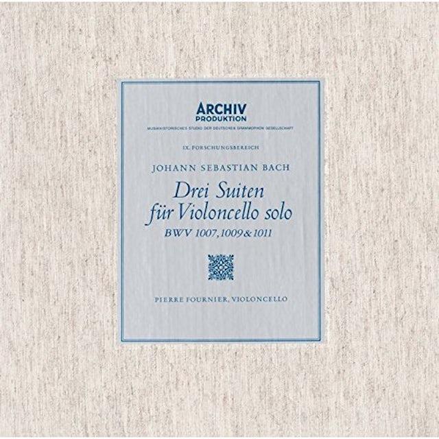 Bach / Pierre Fournier J.S.BACH: SUITES FOR VIOLONCELLO SOLO CD