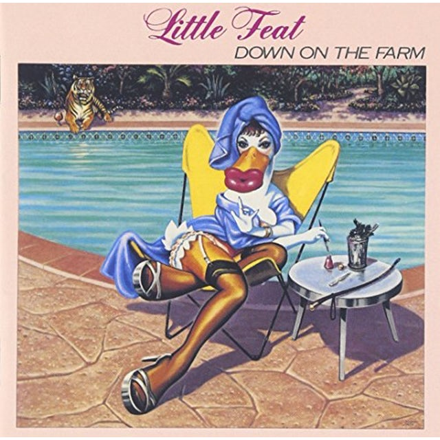 Little Feat DOWN ON THE FARM CD