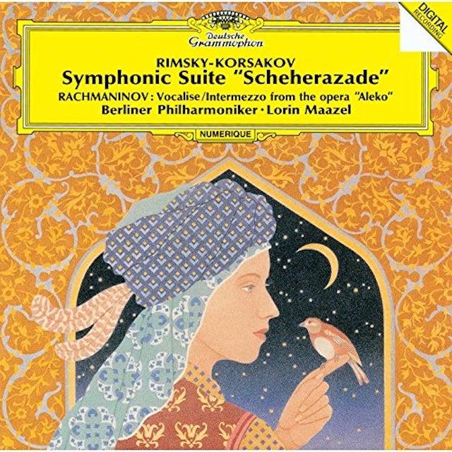 Lorin Maazel RIMSKY-KORSAKOV: SCHEHERAZADE / RACHMANINOV CD