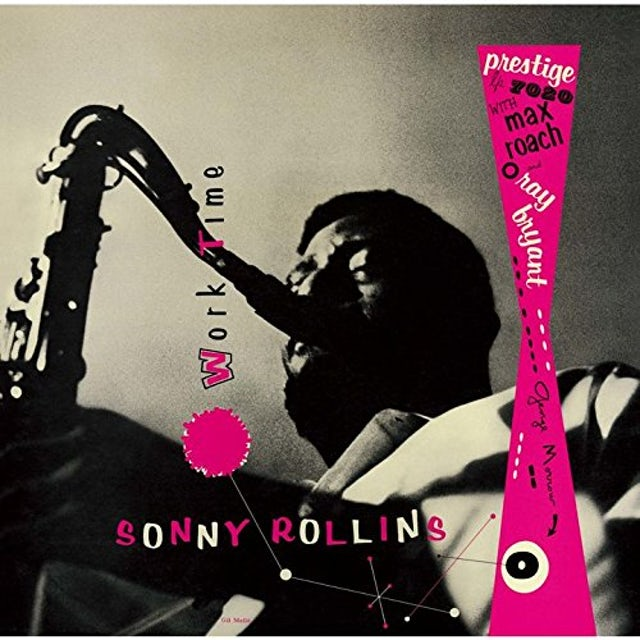 Sonny Rollins WORKTIME CD