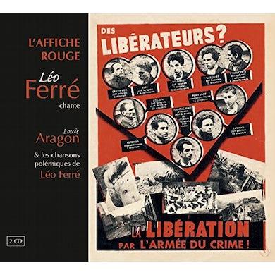Leo Ferre L'AFFICHE ROUGE CD