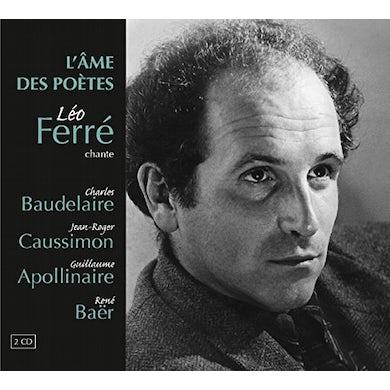 Leo Ferre L'AME DES POETES CD
