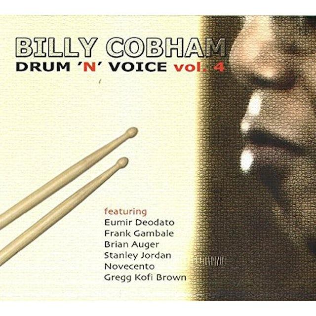 Billy Cobham DRUM N VOICE VOL 4 CD