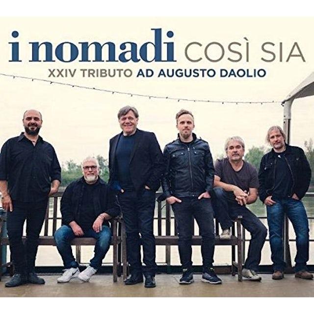 Nomadi COSI' SIA: XXIV TRIBUTO AD AUGUSTO DAOLIO CD