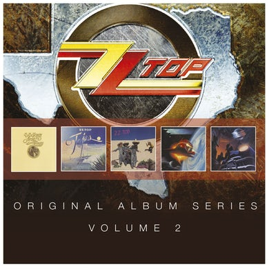 ZZ Top ORIGINAL ALBUM SERIES VOLUME 2 CD