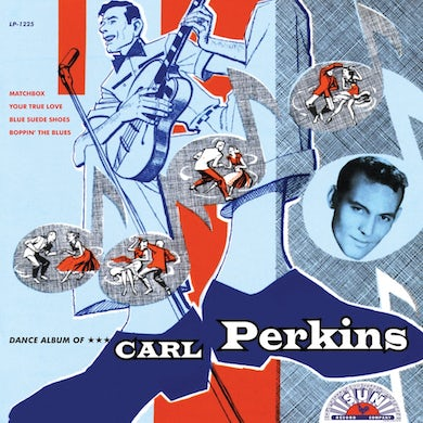 DANCE ALBUM OF CARL PERKINS Vinyl Record
