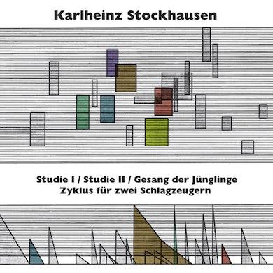 Karlheinz Stockhausen STUDIE I & II GESANG DER JUNGLINGE ZYKLUS FUR ZWEI Vinyl Record