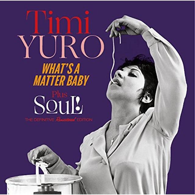 Timi Yuro WHAT'S A MATTER BABY + SOUL! + 5 BONUS TRACKS CD