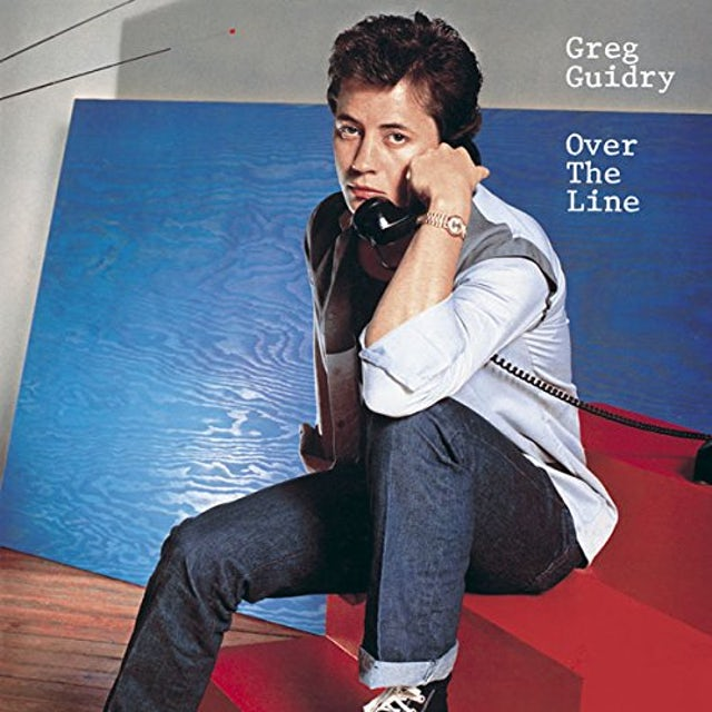 Greg Guidry OVER THE LINE CD