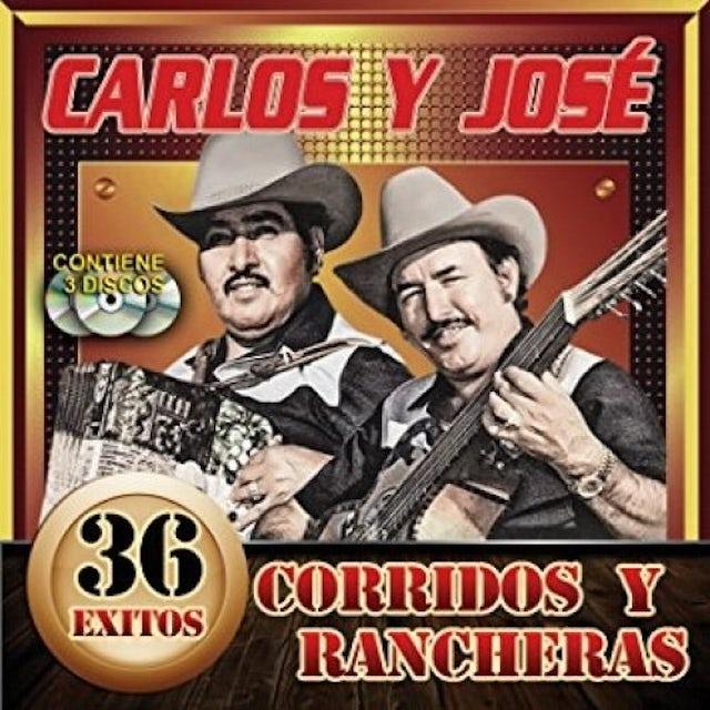 Carlos Y Jose 36 EXITOS CORRIDOS CD