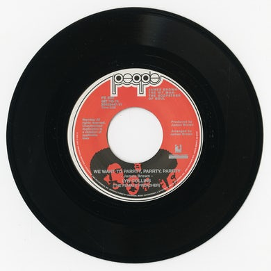 Lyn Collins WE WANT TO PARRTY PARRTY PARRTY / YOU CAN'T BEAT Vinyl Record