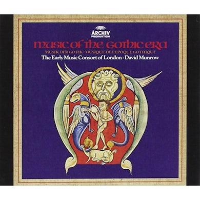 David Munrow MUSIC OF THE GOTHIC ERA CD