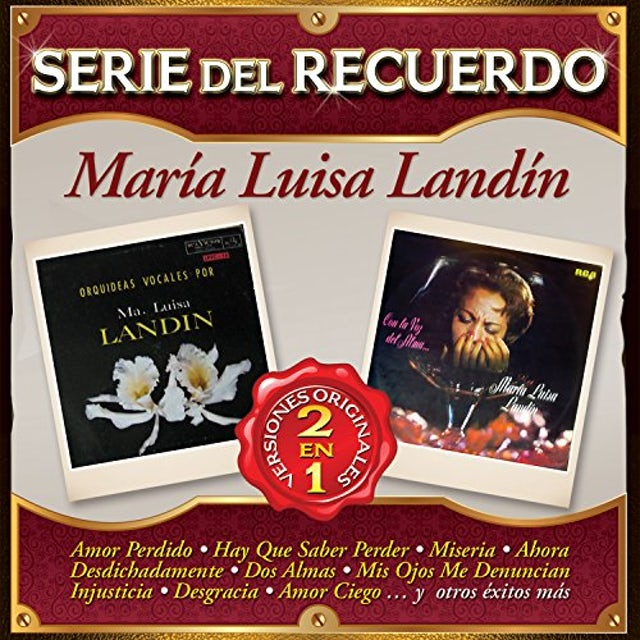 Maria Luisa Landin SERIE DEL RECUERDO CD