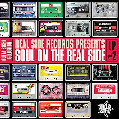 SOUL ON THE REAL SIDE 2 / VARIOUS Vinyl Record
