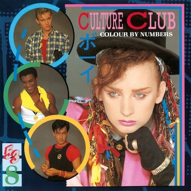 Culture Club COLOUR BY NUMBERS Vinyl Record