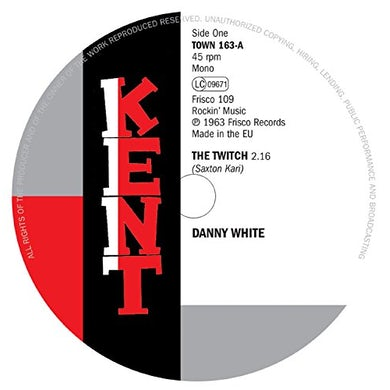 Danny White TWITCH / ENOUGH FOR EVERYBODY Vinyl Record