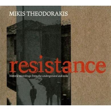 theodorakis RESISTANCE CD