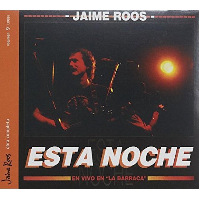 Jaime Roos ESTA NOCHE EN VIVO EN LA BARRACA CD